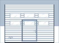 9000F med vinduer og gangdør
