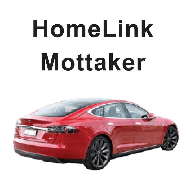 HomeLink til Garasjeporten