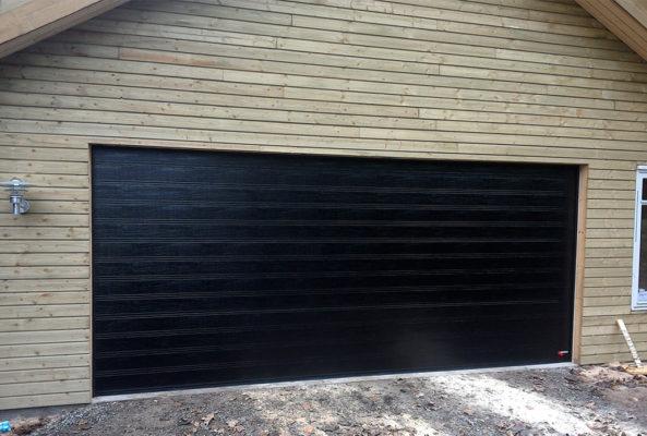 nassau, woodgrain, garasjeport, garasjeporter